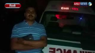 दिल्ली में प्लाई फैक्ट्री में लगी भीषण आग   ANV NEWS  