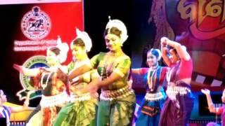 Banichitra Award:2017.Odisha Darshan :Dance Item by Ritika Rath & Group.