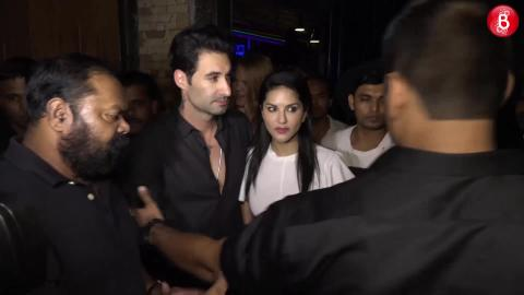 Sunny Leone Spotted On A Dinner Date With Daniel Weber