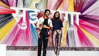 Varun Dhawan & Anushka Sharma GRAND ENTRY At Sui Dhaaga - Made In India Trailer Launch