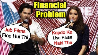 Varun Dhawan And Anushka Sharma Talks On Their STRUGGLE And Financial Issues