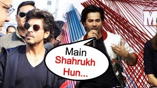 Reporter Calls Varun Dhawan As Shahrukh Khan At Sui Dhaaga Trailer Launch