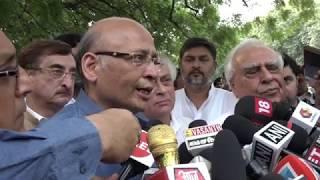 Kapil Sibal and Abhishek Singhvi addresses media on Amit Shah Lied in Electoral Affidavit