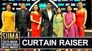 SIIMA AWARDS 2018 Curtain Raiser - Siima 7th Edition Short Film Awards - Rana, Pragya Jaiswal