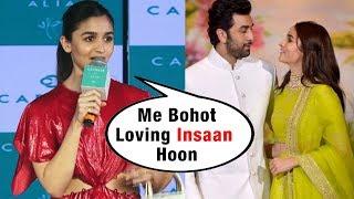 Alia Bhatt Talks On Her LOVE Relationship With Ranbir Kapoor?
