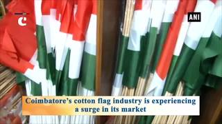 Cotton flag industry booming in Coimbatore after plastic ban