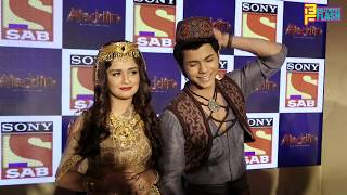 Siddharth Nigam Proposes Avneet Kaur In Shahrukh Khan Style - Cute Couple - Aladdin Serial Launch