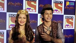 Aladdin & Yasmin Aka Siddharth Nigam & Avneet Kaur - Full Interview - Aladdin Show Launch