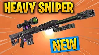 HEAVY SNIPER IS COMING OUT TODAY - EPIC AND LEGENDARY HEAVY SNIPER IN FORTNITE SEASON 5