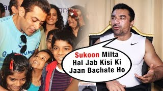 Ajaz Khan Reaction On His Allah Ke Bande Foundation Vs Salman's Being Human