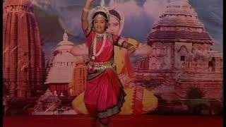 """Odissi Dance """" ଜଗନ୍ନାଥ ସ୍ୱାମୀ ନୟନ ପଥଗାମୀ ଭବତୁମେ ..""""By: Sweta Panda - Baleswar."""