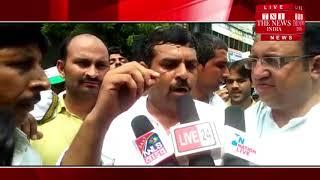 [ Bulandshahr News ] बुलंदशहर में भी राष्ट्रीय लोकदल पार्टी ने किया बिजली घर का घेराव
