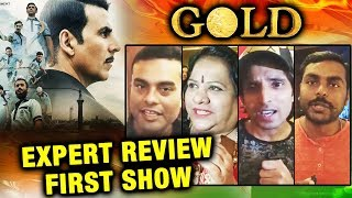 GOLD REVIEW BY EXPERTS | Media Review | FIRST SHOW | Akshay Kumar, Mouni Roy