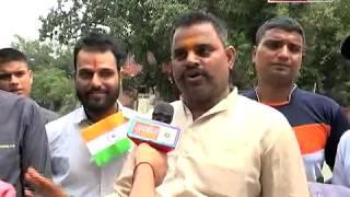 हैदराबाद में गिरफ्तार हुए श्री #SureshChavhanke जी तो आक्रोशित हुई दिल्ली की जनता