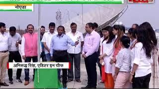 INDIA VOICE में जश्न- ए- आजादी, अनिरुद्ध सिंह ने किया ध्वजारोहण