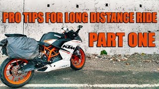 How to ride Long Distance on Motorcycle | Pro Tips | Part 1 | Hindi