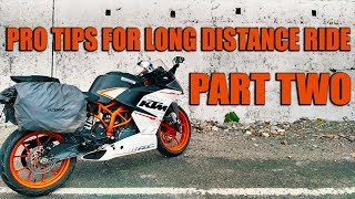 How to ride Long Distance on Motorcycle | Pro Tips | Part 2 | Hindi