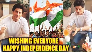 Shahrukh Khan Wishing Everyone Happy Independence Day | Throwback