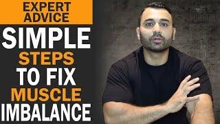 Simple Steps to FIX MUSCLE IMBALANCE! (Hindi / Punjabi)