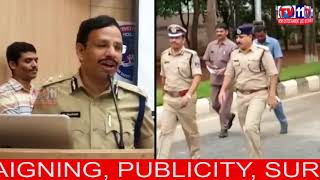 CYBERABAD POLICE CONDUCT AWARENESS PROGRAMME ON STUDENTS POLICE CADET AT GACHIBOWLI