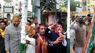 Independence Day Celebration In Hyderabad | Cm KCR, Asaduddin Owaisi, Faratullah Khan, And Others