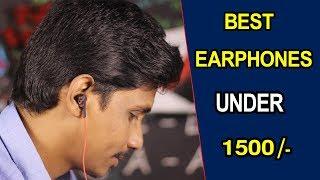 Best Earphones under 1500/-  | Blitzwolf telugu