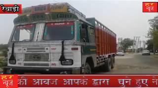 कोटा पुलिस की नाकेबंदी से पकड़ा गया लूटा हुआ ट्रक