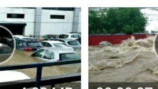 ପ୍ରବଳ ବର୍ଷା ରେ ଭୁବନେଶ୍ୱର ଓ କଟକ ରୋଡ଼||Heavy Rain On NH of Bhubaneswar and Cuttack.
