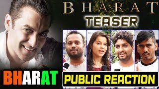 BHARAT TEASER | PUBLIC REACTION | Salman Khan, Katrina Kaif
