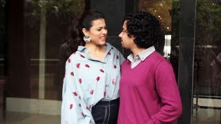 Kajol And Riddhi Sen Spotted At Novotel For Media Interview   Helicopter Eela Promotion