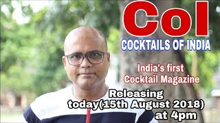 coi India's first cocktail magazine | coi magazine | cocktail magazine | dada bartender