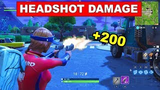 Deal Headshot Damage to opponents - FORTNITE WEEK 6 CHALLENGES SEASON 5