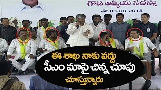 కేసీఆర్ తో నేను మాట్లాడ లేను అందుకే కేటీఆర్ కు చెప్తున్న  Minister Padma rao sensational comments