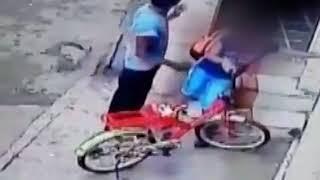 CCTV : BOY harassing a Class 8 student   JanSangathan Tv