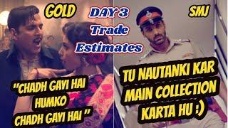 Gold Vs Satyameva Jayate Collection Estimates Day 3 I Trade