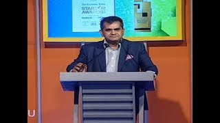 NITI CEO calls Startup Inc to focus more on education, health | ET Startup Awards 2018