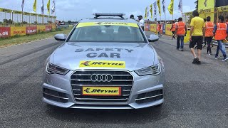 AUDI A8 SAFETY CAR TAXI RIDE