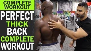 Perfect THICK BACK Workout! BBRT #100 (Hindi / Punjabi)