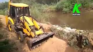 सिरसा के गांव गिदडांवाली के पास नहर टूटी, अधिकारियों की लेट लतीफी के कारण सैंकडों एकड फसल जलमग्न
