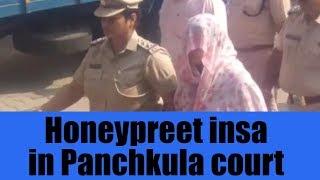 Honeypreet insa in Panchkula court | JanSangathan Tv