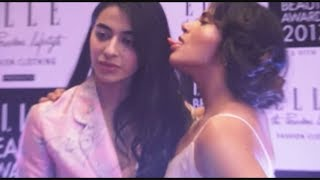 RICHA CHADDA KISS  BANI J  AT EVENT | JanSangathan Tv