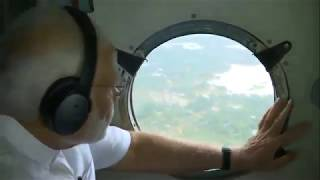 PM Shri Narendra Modi conducts an aerial survey of flood affected areas in Kerala.