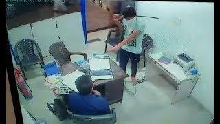 CCTV SIRSA PETROL PUMP LIVE LOOT | JanSangathan Tv