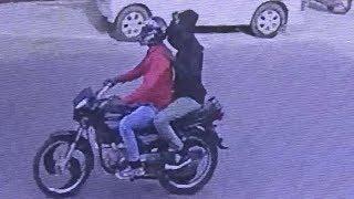CCTV : PURSE SNATCHING IN JALANDHAR | JanSangathan Tv