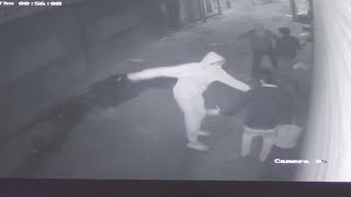 LIVE LOOT IN LUDHIANA | CCTV FOOTAGE | JanSangathan Tv