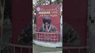Sidhu moose wale da Punjab university Chandigarh vich 14 March nu hon wale show da virod