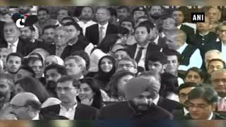Sidhu seen sitting next to PoK Prez during Pak PM's oath-taking ceremony