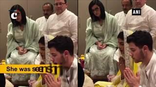 PeeCee & Jonas' roka ceremony takes place in Mumbai