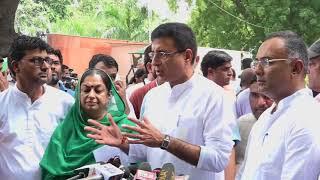Randeep Singh Surjewala addresses media on Kerala flood situation