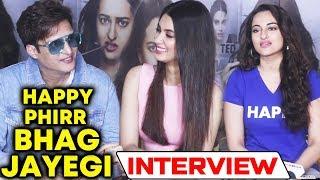 Happy Phir Bhaag Jayegi Star Cast Interview | Sonakshi Sinha, Diana Penty, Jimmy Shergill